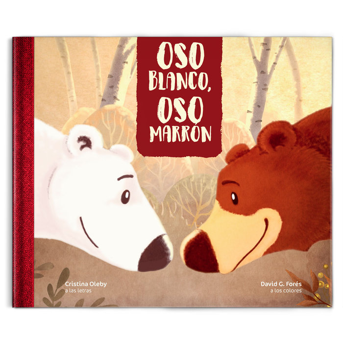 Oso blanco, oso marrón